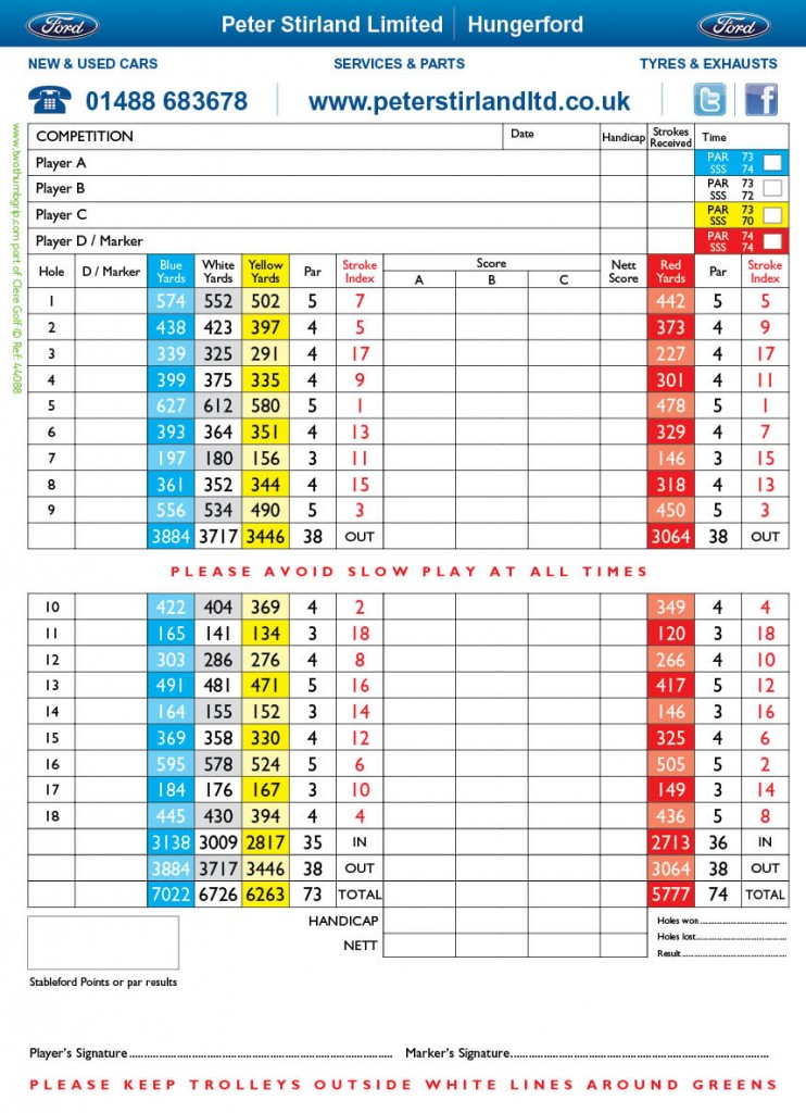 44088 - West Berkshire 4pp OC Scorecard back