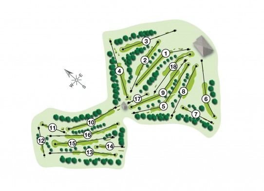 46309 The West Berkshire Course Guide COURSE MAP